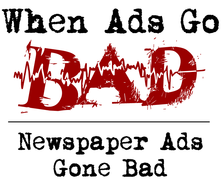 When Newspaper Ads Go Bad