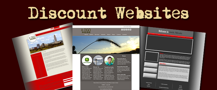 Discount Website Designs
