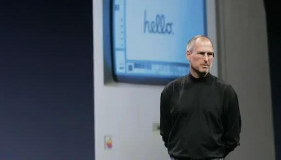 Steve Jobs welcome to macintosh apple