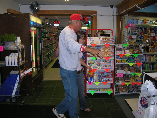 customers shopping in store