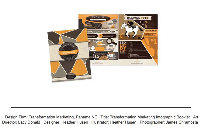 GDUSA Award Transformation Marketing SEO information booklet mockup