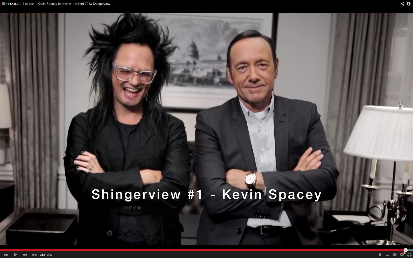 Shingerview #1 - Kevin Spacey still