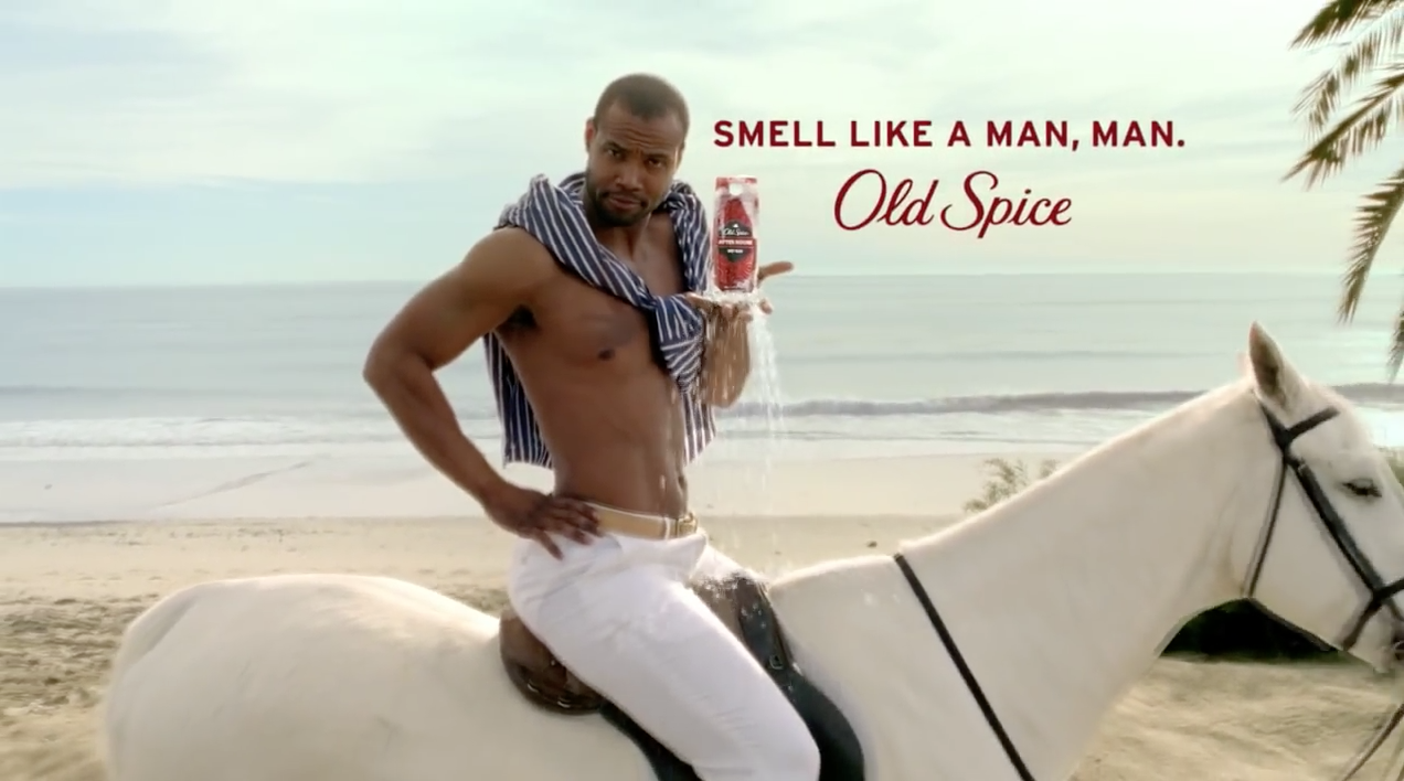 "old spice campaing Old spice's ""smell like a man, man"" campaign has been a huge viral success, but has it increased sales the answer is an emphatic yes, according to the nielsen."