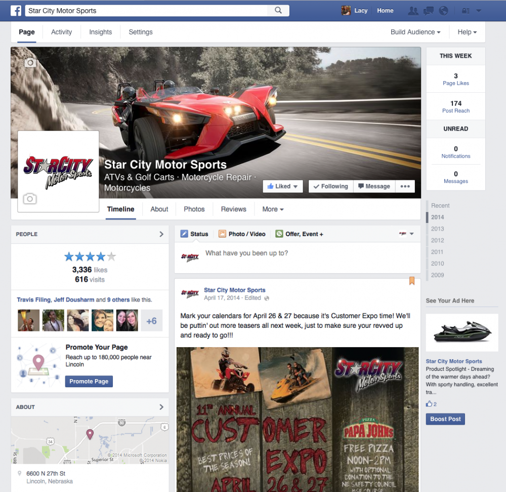 Star City Motor Sports – Event Marketing