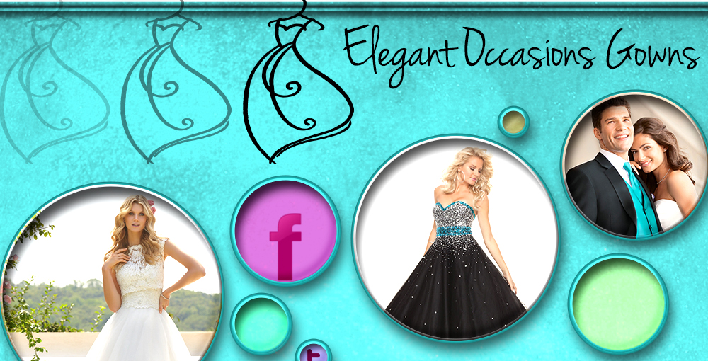 Elegant Occasions Gowns – Website Design