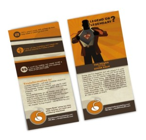 illustration: Professionally designed brochure example