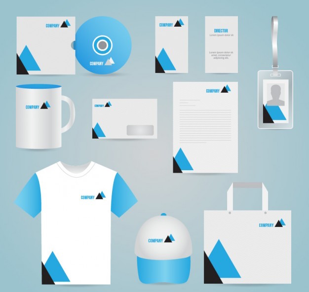 vector of branded items