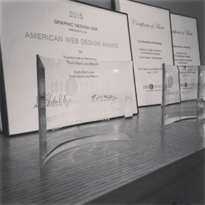 A.M.A. Awards on Display