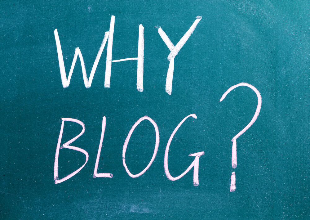 TM Benefits of Blogging