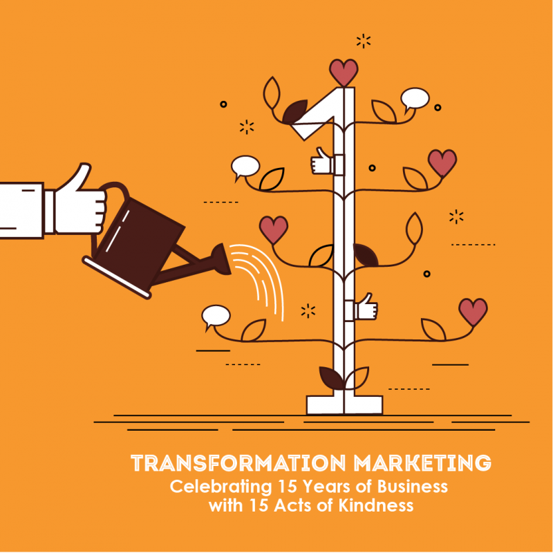 Image for Act 1 of TM's 15 Acts of Kindness for 15 Years of Business
