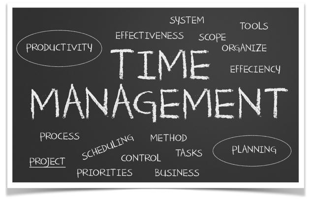 Time Management Chalkboard
