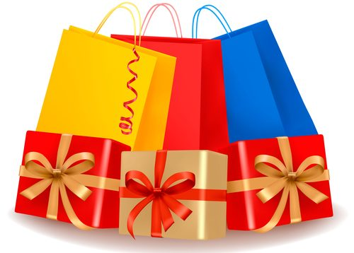 Presents and gift bags