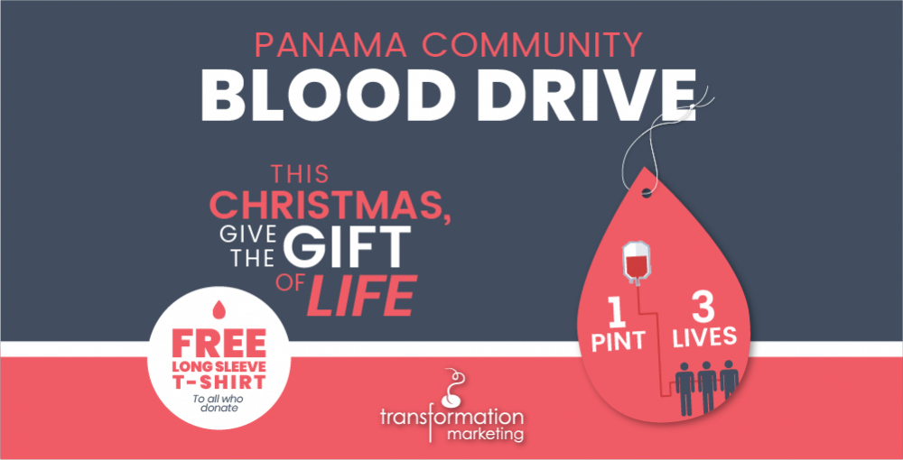 TM:  Holiday Blood Drive