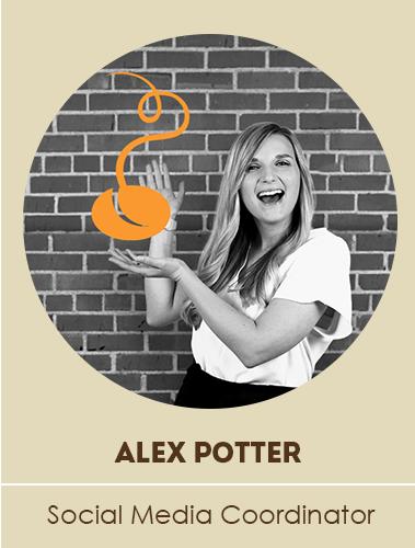 Alex Potter, Social Media Coordinator