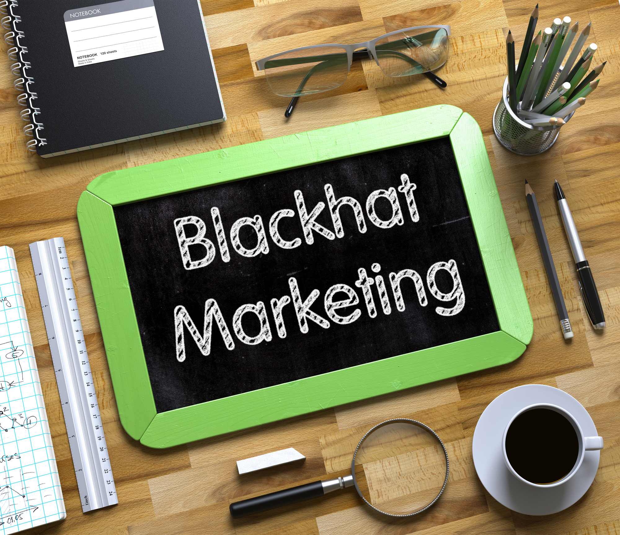 Black hat social media marketing