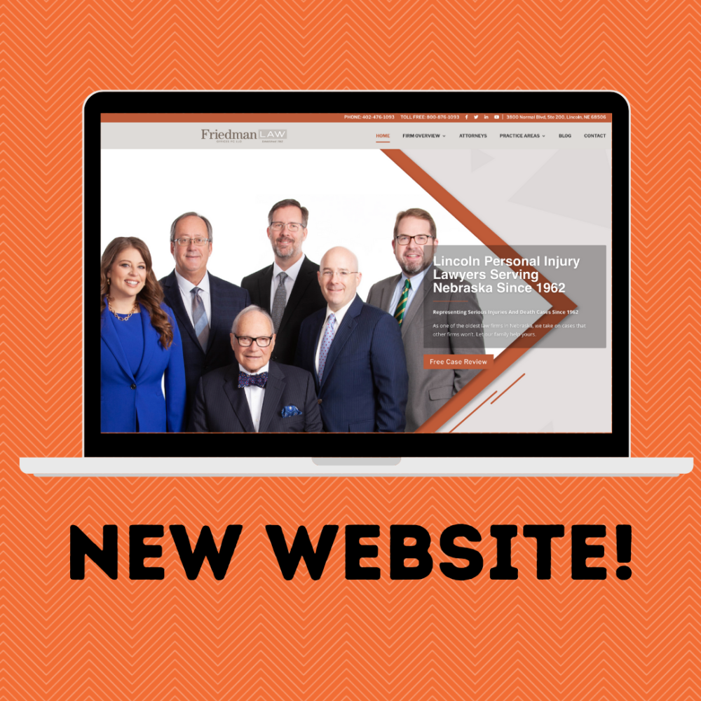 Friedman Law Offices: New Website Reveal